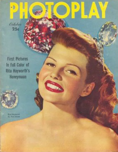 Photoplay October 1949 Rita Hayworth
