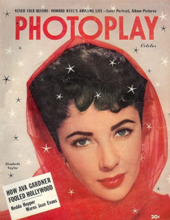 Photoplay October 1951 Elizabeth Taylor