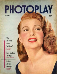 Photoplay October 1952 Rita Hayworth