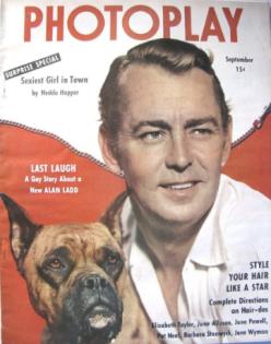 Photoplay September 1950 Alan Ladd