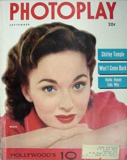 Photoplay September 1952 Ann Blyth