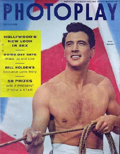 Photoplay September 1954 Rock Hudson