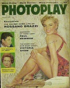 Photoplay Aug 1956 Sheree North