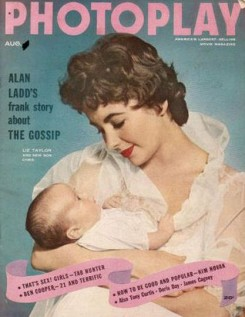 Photoplay August 1955 Liz taylor