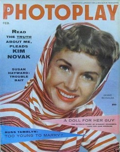 Photoplay Feb 1956 Reynolds