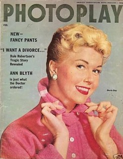 photoplay February 1955 doris day