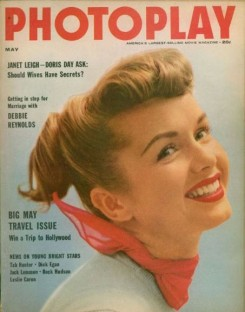 Photoplay May 1955 Debbie reynolds