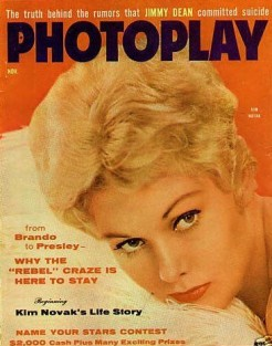 Photoplay Nov 1956 Kim Novak