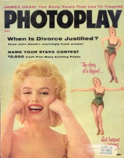 Photoplay Oct 1956 Monroe