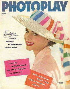Photoplay August 1957 Natalie Wood