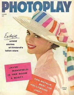Photoplay August 1957 Natalie Wood