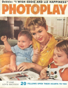 Photoplay August 1959 Debbie Reynolds Carrie Fisher