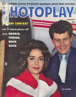 Photoplay December 1959 Liz taylor eddie fisher