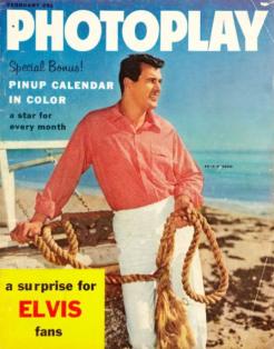 Photoplay Feb 1958 Rock Hudson