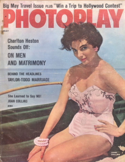 Photoplay May 1957 Joan Collins