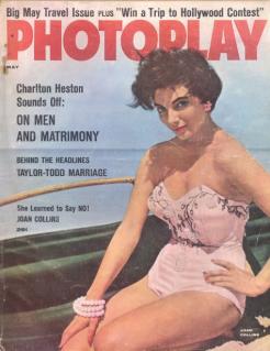 Photoplay May 1957 Joan Collins