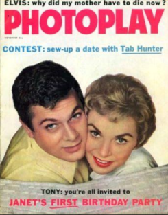 Photoplay Nov 1958 Tony curtis janet leigh