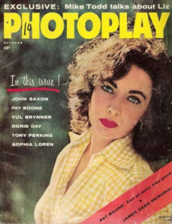 Photoplay Oct 1957 Elizabeth Taylor