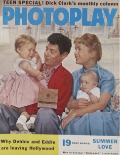 Photoplay Sep 1958 Eddie Debbie Fisher reynolds