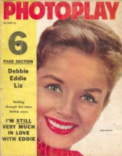 Photoplay december 1958 debbie reynolds